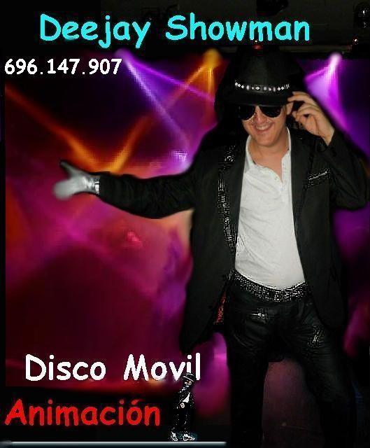 dj bodas showman animador disco movil cartagena